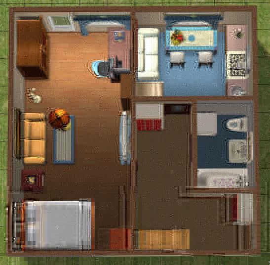 b дизайн/b-проект b однокомнатной квартиры /b.
